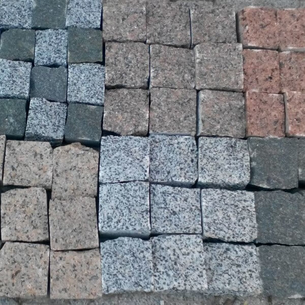 Гранитная тротуарная плитка