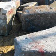 Блоки габбро Букинское месторождение